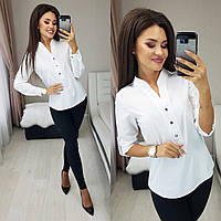 Рубашка женская белая, чёрная, розовая, 42-44, 46-48, 50-52