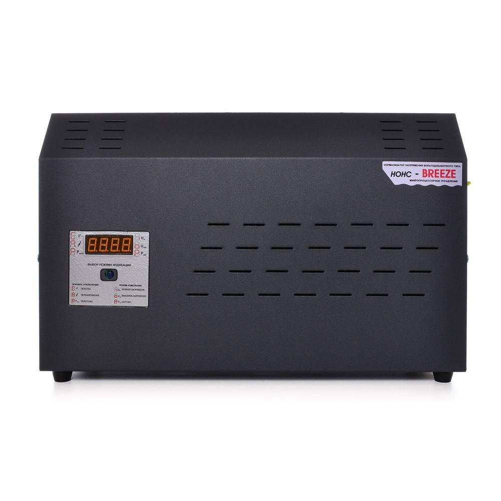 Однофазный стабилизатор напряжения НОНС BREEZE 9000 (9,0 кВт)