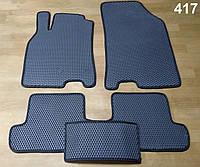 Водо- и грязезащитные коврики на Renault Megane 3 '08-15 КУПЕ из экологически чистого материала EVA