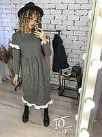 Женское платье с длинным рукавом, фото 1