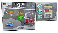 Магнитные Пазлы в кейсе, магнитный набор для творчества транспорт, 6199
