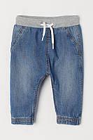 Джинсы из денима на мальчика H&M синие