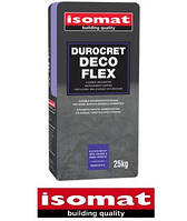 Дюрокрет-Деко Флекс белый (25 кг) покрытие для отделки стен и пола