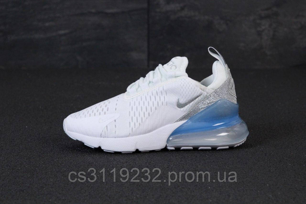 Женские кроссовки Nike Air Max 270 (белые)