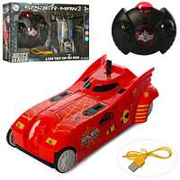 Машинка типа Человек Паук, которая умеет ездить по стенам, на радиоуправлении, машина SpiderMan ZR2055