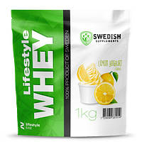 Протеин Swedish Lifestyle Whey 1.0 кг Лимонный йогурт