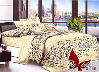 Комплект постельного белья двухспальный с компаньоном S-146 ТМ TAG 2-спальный, постельное белье двухспальное