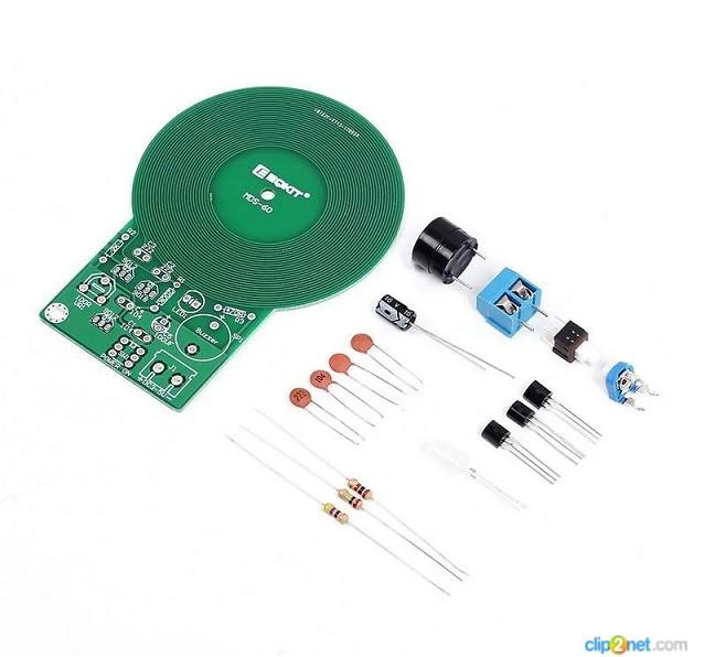 Металошукач. Набір для самостійної збірки. DIY kit