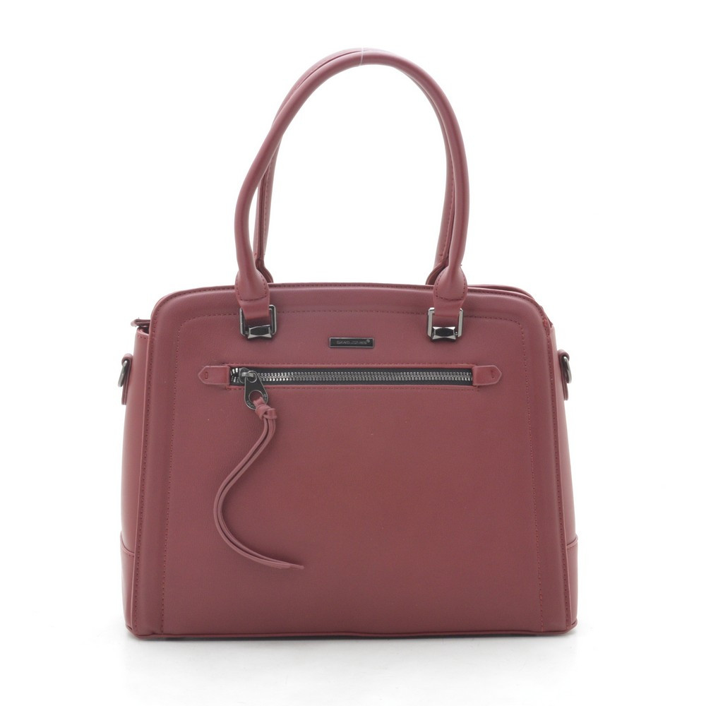Жіноча сумка David Jones 6111-3T bordeaux