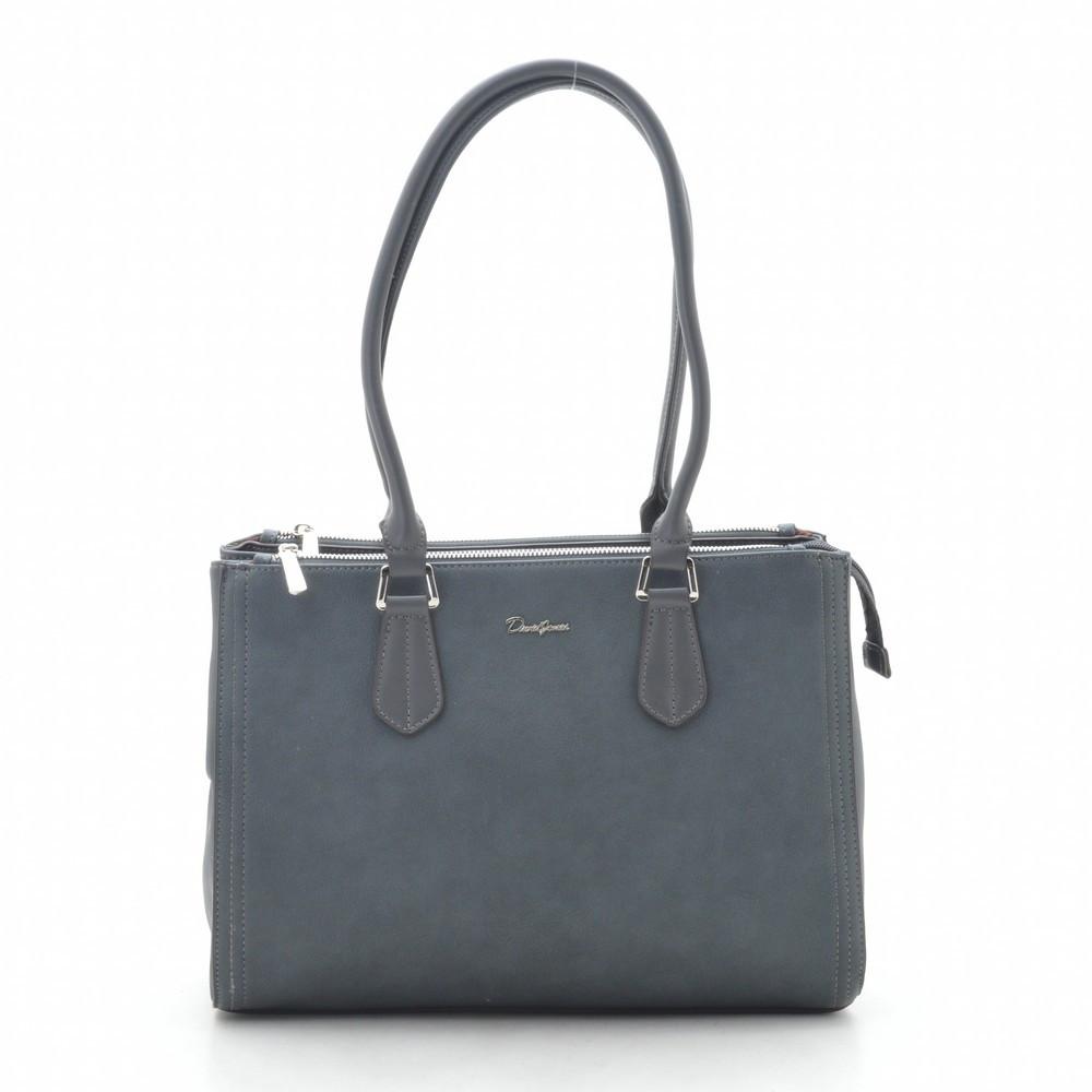 Жіноча сумка David Jones CM5313T d. grey
