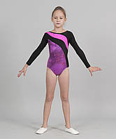 Красивый купальник для гимнастики и хореографии