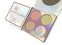Палетка хайлайтеров Venus Marble Highlighter Palette (реплика)