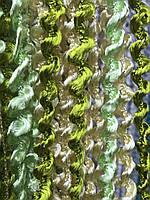 Декоративні штори для дитячої кімнати спальні залу, штори з ниток для будинку кабінету вітальні спальні, штори веселка для залу, фото 2
