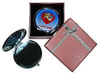 Зеркальце в подарочной упаковке I LOVE YOU №7006-7-3