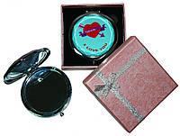 Зеркальце в подарочной упаковке I LOVE YOU №7006-7-4