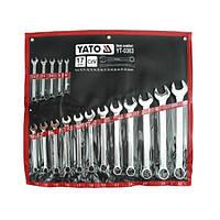 Набор ключей рожково-накидных 17 эл. YATO YT-0363