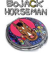 Карманное зеркало большой Конь БоДжек / BoJack Horseman