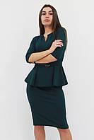 S (42-44) / Жіноче класичне плаття Venera, зелений