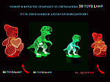 "3D светильник ночник ""Лотос""  3DTOYSLAMP, фото 6"