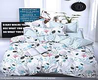 Комплект постельного белья двухспальный с компаньоном S319 ТМ TAG 2-спальный, постельное белье двухспальное