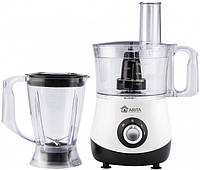 Кухонный комбайн ARITA AFP-7755 BW  (700Вт блендер тесто шинковка черный), фото 1