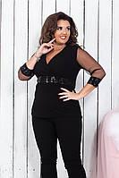 Модный женский нарядный костюм,размеры:48-50,52-54, 56-58., фото 1