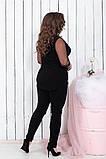 Модный женский нарядный костюм,размеры:48-50,52-54, 56-58., фото 2