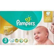 Подгузники Pampers Premium Care Mega Pack