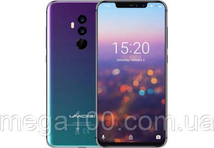 Смартфон umidigi z2 twilight (экран 6,2 дюймов; памяти 4/64, акб 3850 мАч)