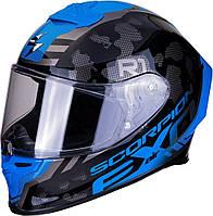Мотошлем Scorpion Exo-R1 Air Ogi (синий)