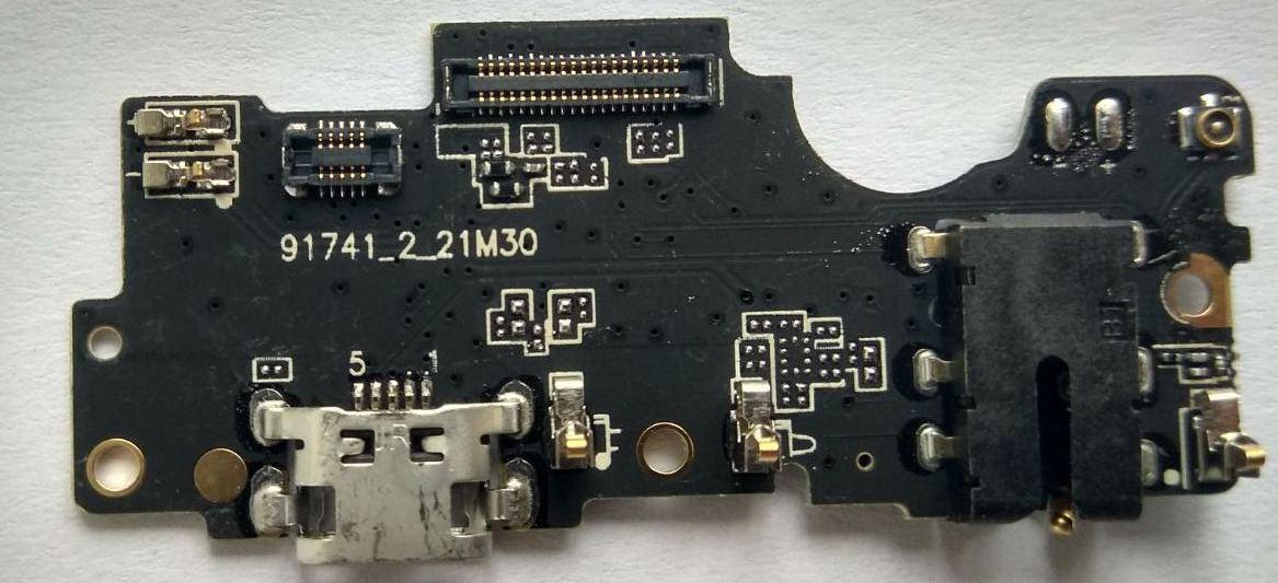 Нижня плата MEIZU E2 з конектором зарядки