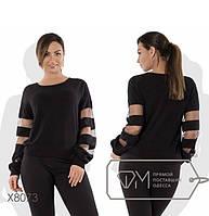 """Стильний жіночий светр для пишних дам """"Ангора"""" Angelo Style"""