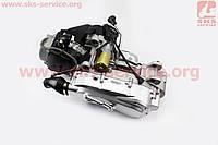 Двигатель для квадроцикла в сборе вариаторный с редуктором задней передачи в сборе 150 сс