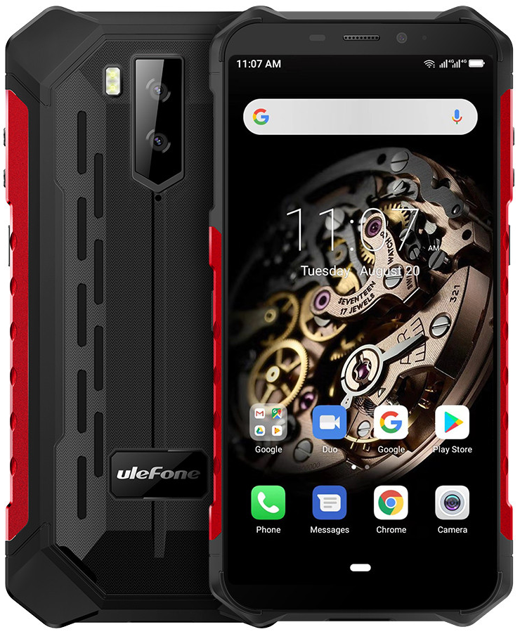 Ulefone Armor X5   Красный   IP68   3/32Гб   4G/LTE   Гарантия