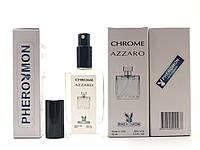 Тестер в подарочной упаковке Azzaro Chrome 60 мл в цветной упаковке с феромонами реплика