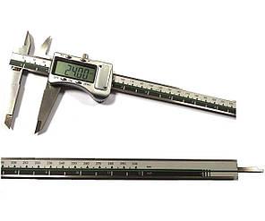 Штангенциркуль электронный I.D.F. 300M (0-300 мм; ±0.03) в металлическом корпусе IP67 (mdr_3025 1008 52)