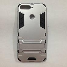 Чехол Huawei Y6 2018 Terminator Silver