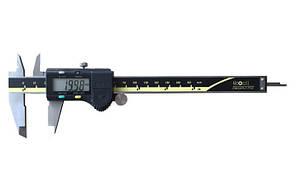 Штангенциркуль электронный Kronos KM-DSM-150 (0-150/0,01; ±0.02 мм) с бегунком сертификат от производителя (mdr_5292)
