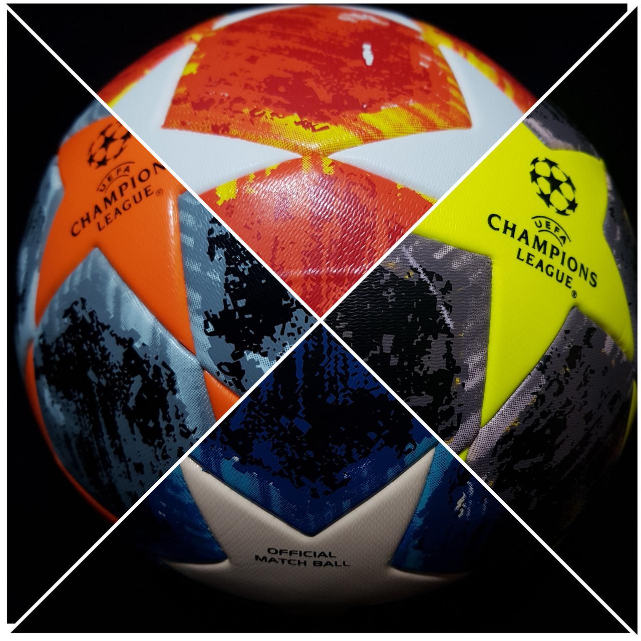 """Мячи футбольные №5 """"CHAMPIONS LEAGUE"""" TOP Training Match Ball Replica"""