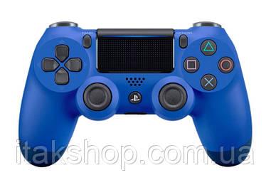 Джойстик плейстейшен DualShock 4 PS4 Wireless Controller геймпад Blue