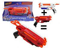 """Бластер 2 в 1 """"Nerf: Split Strike""""  sct"""