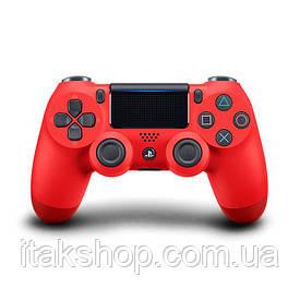 Джойстик плейстейшен DualShock 4 PS4 Wireless Controller геймпад Red