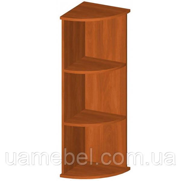 Угловой шкаф для бумаг (340х1112) Бюджет Б-608