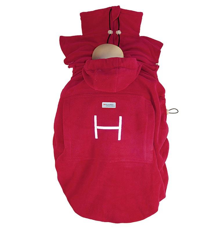 Слингонакидка HOPPEDIZ Fleece-Cover Basic Red