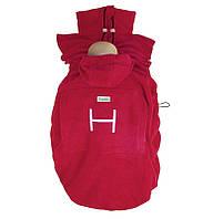 Слингонакидка HOPPEDIZ Fleece-Cover Basic Red, фото 1