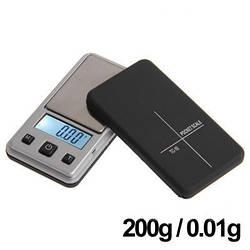 Ультракомпактные весы Mini с откидной крышкой Pocket Scale ТС-10 (0.01g ~ 200 г) (mdr_5411)
