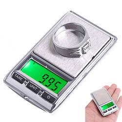 Весы цифровые Mini Digital DS-500 двухуровневые 100g x 0.01g / 500g x 0.1g (mdr_5479)