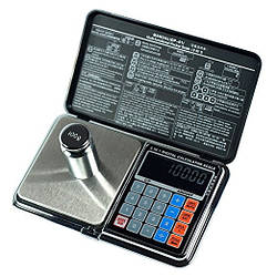 Весы цифровые мультифункциональные 6 в 1 Digital Pocket Scale Precision DP-01 (0.01/200 г) (Весы+калькулятор)