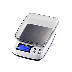 Весы цифровые Kronos DM 3 (±0,01-500 г) с функцией счета съемной крышкой и возможностью работать от сети 220V (mdr_5488)