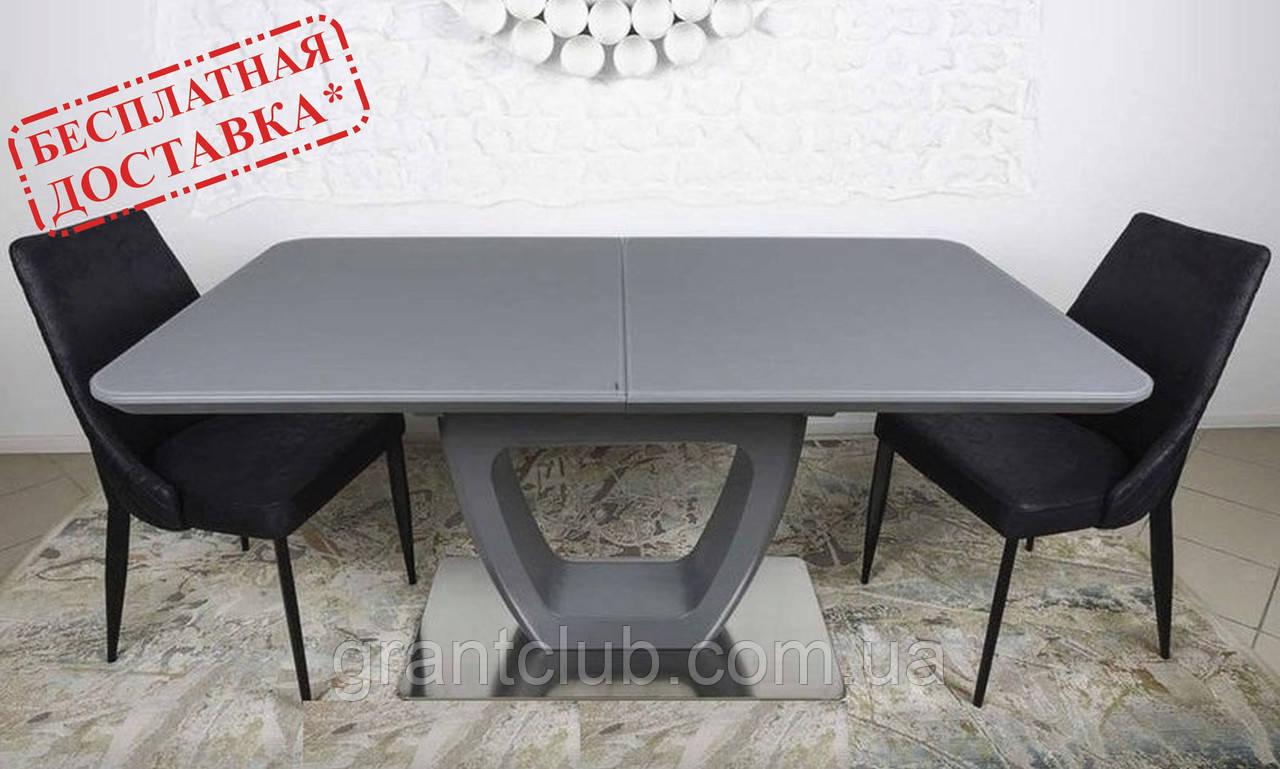Стол TORONTO 160/210 см графит (бесплатная доставка)